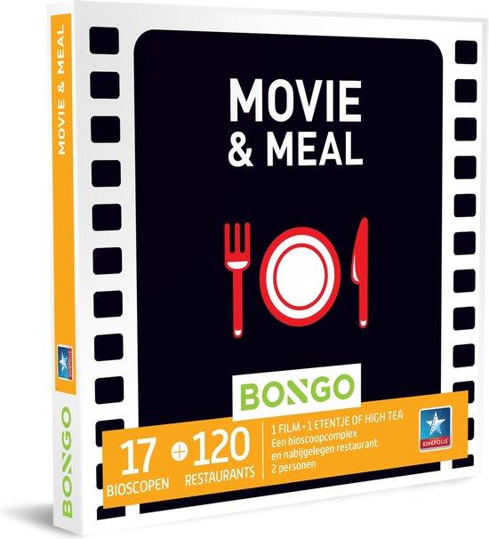 bioscoopbon met eten