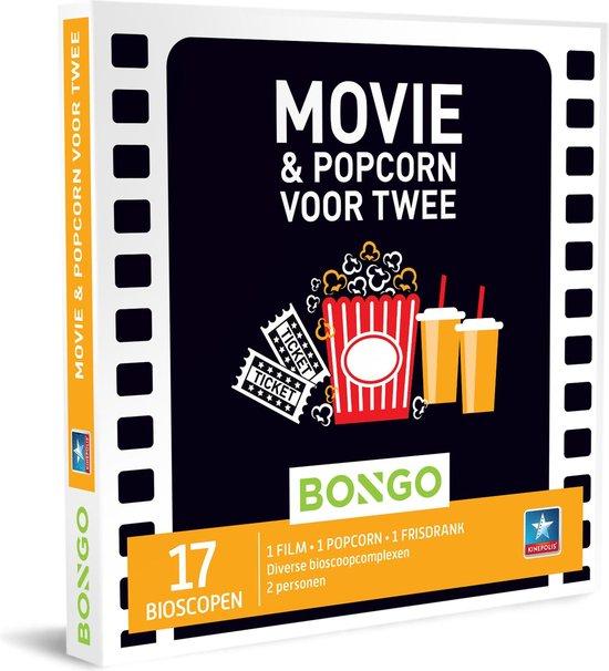 bioscoopbon euroborg met popcorn
