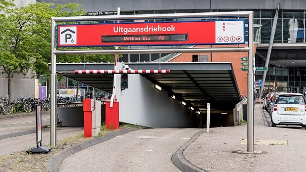 parkeergarage p6 uitgangsdriehoek pathe arena