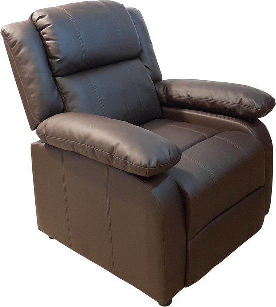 thuisbioscoop stoel bruin en zacht